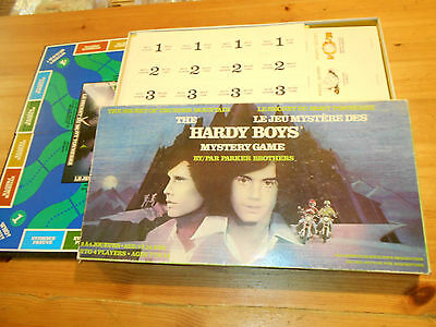 1978 Parker Brothers The Hardy Boys Vintage Board Game Also In French