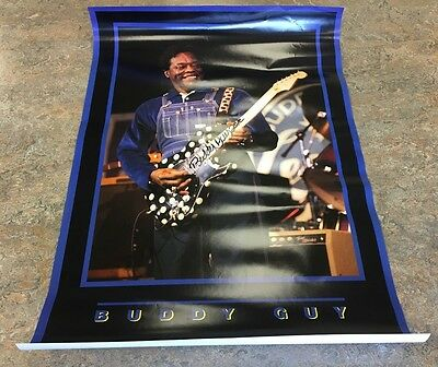 Buddy Guy signed Poster RARE!