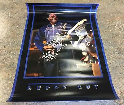 Buddy Guy signed Poster RARE! #3