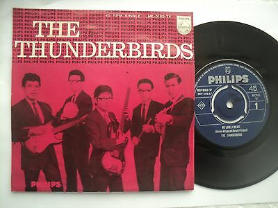 The Thunderbirds - My Lonely Heart- Singapore 60's POP - 45 P/S