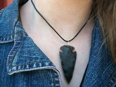 Cherokee style Indian arrowheads . Hand chipped arrowheads from Tennessee, USA.