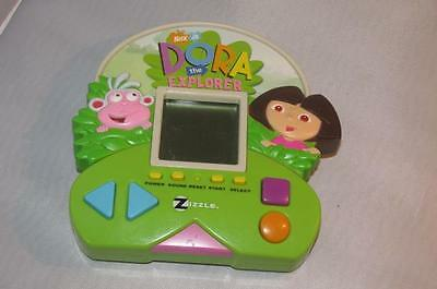 Dora The Explorer Electronic Handheld Great Learning Kids Game Zizzle