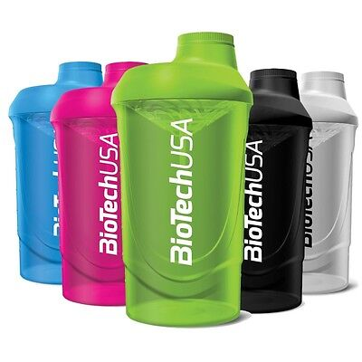 Biotech USA Wave SHAKER 600/700 ml PROTEIN GYM MIXER SHAKER