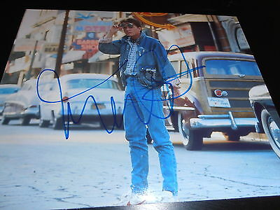 MICHAEL J FOX SIGNED AUTOGRAPH 8x10 PHOTO BACK TO THE FUTURE IN PERSON COA NY X1