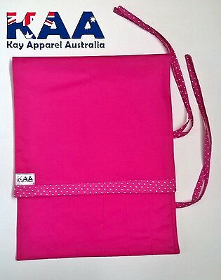 Butchers Chefs Pink Knife Roll Wrap **MADE IN KINGAROY QLD**