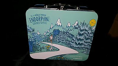 Brooks Running Shoes Promotional Lunch Box advertising promo RARE