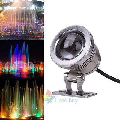 Underwater Led Swimming Pool Light 10W RGB 120°  Colorful Fountain Bulb Lamp A