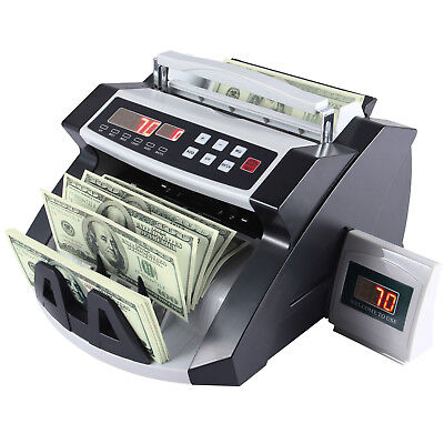 2017 Money Bill Cash Counter Bank Machine Currency Counting Uv