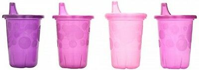 The First Years Take & Toss SpillProof 4Pack Sippy Cups 10 Ounce Pink