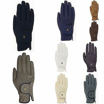Roeck Grip Chester Mens Womens Horse Riding Cycling Comfy Breathable Gloves
