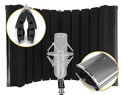 Absorber Microphone Ecran Studio Enregistrement Mic Screen Diffuseur Pliable