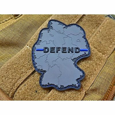 JTG Defend Patch Polizei Thin Blue Line Special Edition