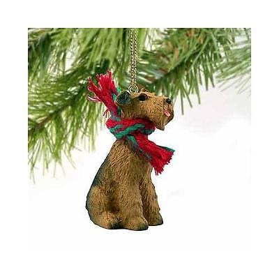 Airedale Terrier Miniature Dog Ornament New
