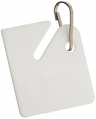 """MMF Industries Slotted Key Tags, 1-1/4"""" High, Pack of 20 in Zip Bag 201300006"""