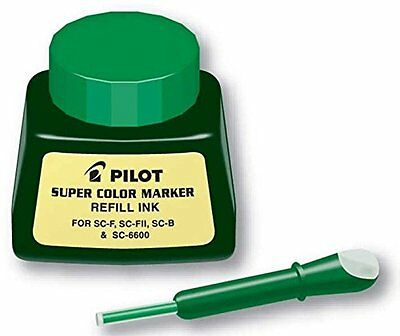 Pilot Super Color Permanent Marker Refill Ink, 1 Ounce Bottle with Dropper, Ink