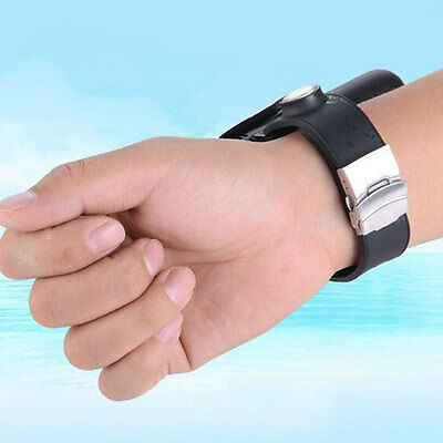 Wrist Bracelet Inflatable Float Air Bag Swimming Self Rescue Ring Survival Pool