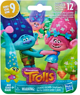 DreamWorks Trolls Mini Figure Series 3 - 12 to Collect - Sealed Small Blind Bag