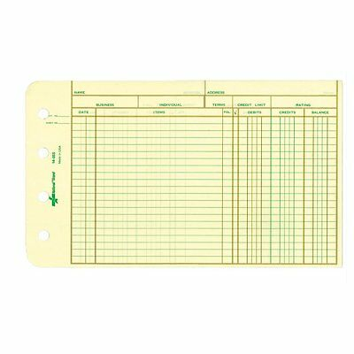 Rediform Extra Sheets for 4-Ring Ledger Binder, 5 x 8.5 Inches, 100 per Pack