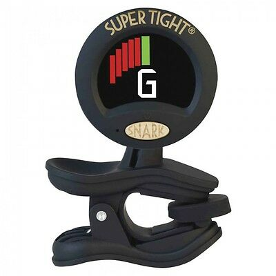 SNARK 'SUPER TIGHT' CLIP ON ALL INSTRUMENT TUNER / METRONOME - Black ST8
