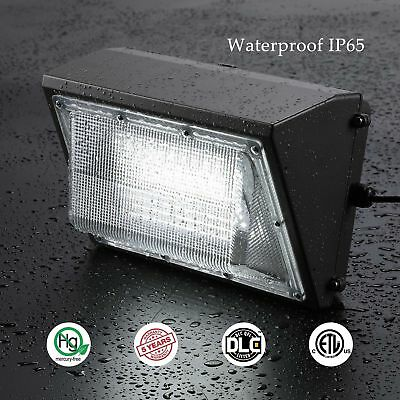 2 Pack 100 Watt LED Commercial Wall Pack Light Outdoor 10,500 lumens UL Approved