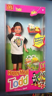 1993 McDonald's Happy Meal Todd Doll NOS MIB By Mattel