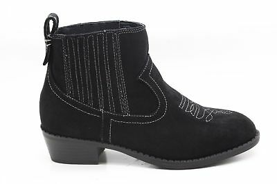 6fb0a7a04089 Dolce Vita Girls Gavin Ankle Bootie Black Little Kid Size 2 M US