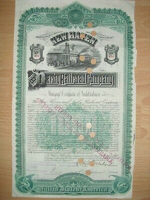 New Haven  and Derby Railroad Company  1888