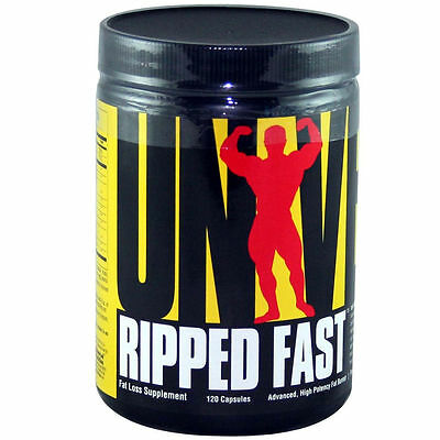 Universal Nutrition, Ripped Fast, Advanced, High Potency Fat Burner, 120 Caps