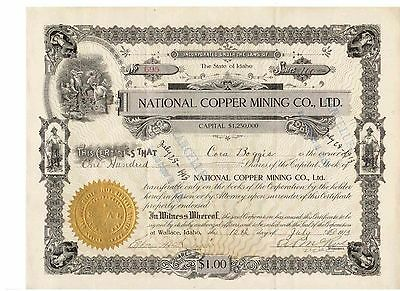 National Copper Mining Co. 1913