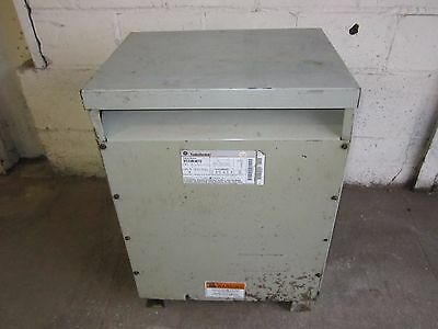 General Electric 30 KVA 3 Phase Transformer Primary 480 Sec 208/120 9T23B3872