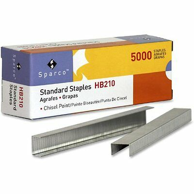S.P. Richards Company Standard Staples, Chisel Point, 1/2-Inch W, 1/4-Inch L,