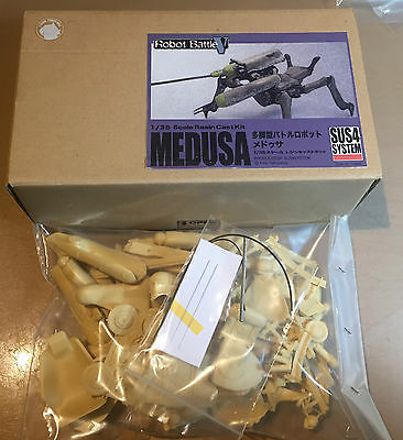 ANIME MODEL RESIN KIT - MASCHINEN KRIEGER Ma.K. 1/35 MEDUSA SUS4 SYSTEM - NUOVO