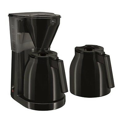 Cafetiere filtre - Melitta Easy Therm + 2eme verseuse 1010-061 Black