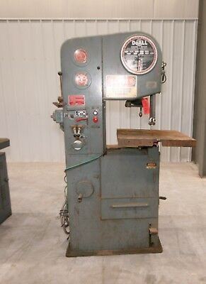 "11976 DoAll 16"" Vertical Bandsaw, Model 1612-1"""