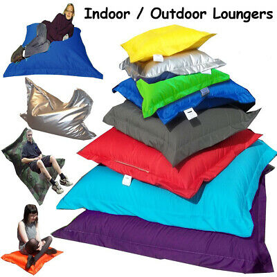 In/Outdoor Beanbag / Cushion / Lounger - Polystyrene Beans Included - MADE IN UK