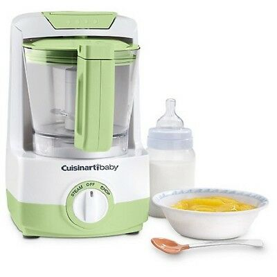 New Cuisinart BFM-1000GN Baby Food Maker and Bottle Warmer Green Free Ups Ship