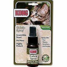Kong Natural Catnip Spray to add life to old toys  30ml