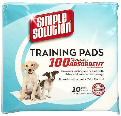 Simple Solution Dog Puppy  Training Pads 100pk
