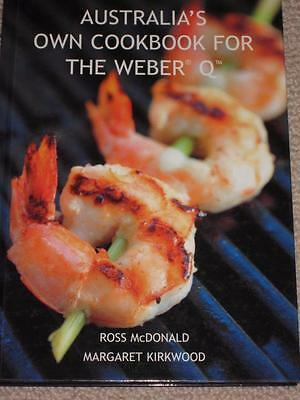 New Australias' Own Cookbook For The Weber Q Bbq Barbecue Cookery