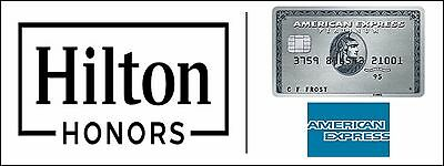 Amex American Express Gold Card Referral - Collect 74,000 Hilton Honors Points