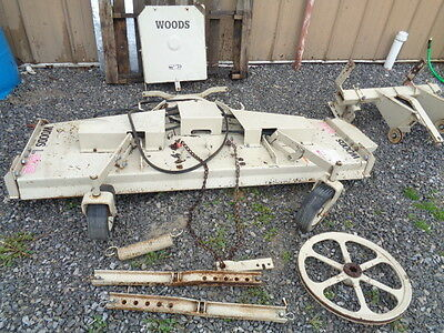 Woods L306 belly mower deck Ford Massey Ferguson Farmall tractors