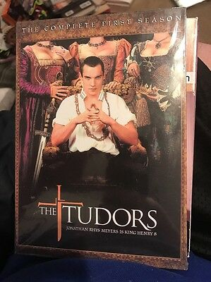 DVD, THE TUDORS, COMPLETE First 1ST SEASON One 4 DISCS, NEW SEALED