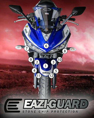 Eazi-Guard Stone Chip Paint Protection Film for Yamaha YZF-R3