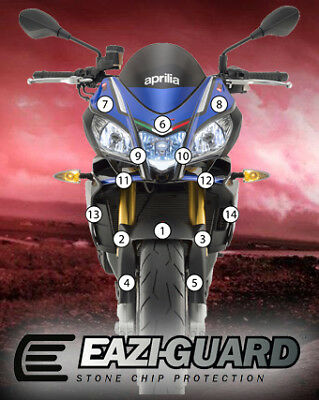 Eazi-Guard Stone Chip Paint Protection Film for Aprilia Tuono V4 1100
