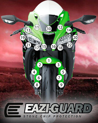 Eazi-Guard Stone Chip Paint Protection Film for Kawasaki Ninja ZX-10R