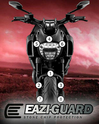Eazi-Guard Stone Chip Paint Protection Film for Ducati Diavel