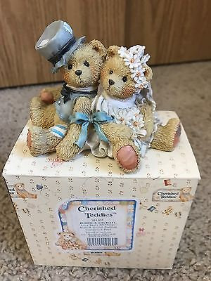 "Cheirshed Teddies Robbie & Rachael ""love Bears All Things"" With Box"