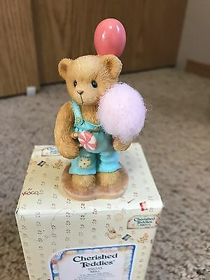 "Cherished Teddies Mike ""i'm Sweet On You"" With Box"