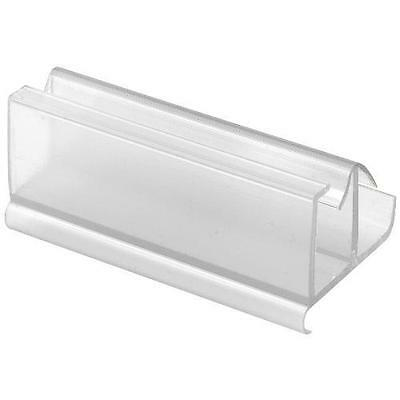 Prime-Line Products M 6217 Shower Door Frameless Guide, Clear New