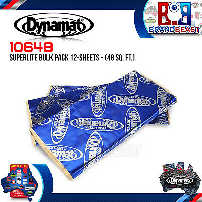 Dynamat Superlite 10648 Bulk Pack